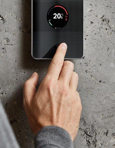 Handmodel Thermostat
