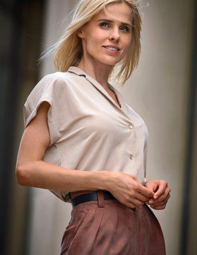 Modelfotografie Sedcard Frau