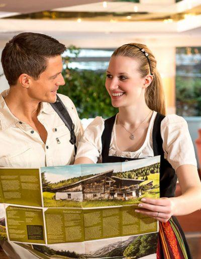 Model Sedcard Tourismus